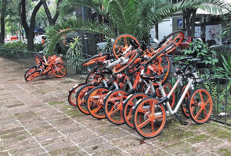 Vecinos de Hipódromo se declaran en resistencia contra bicis sin anclaje. Foto: Especial