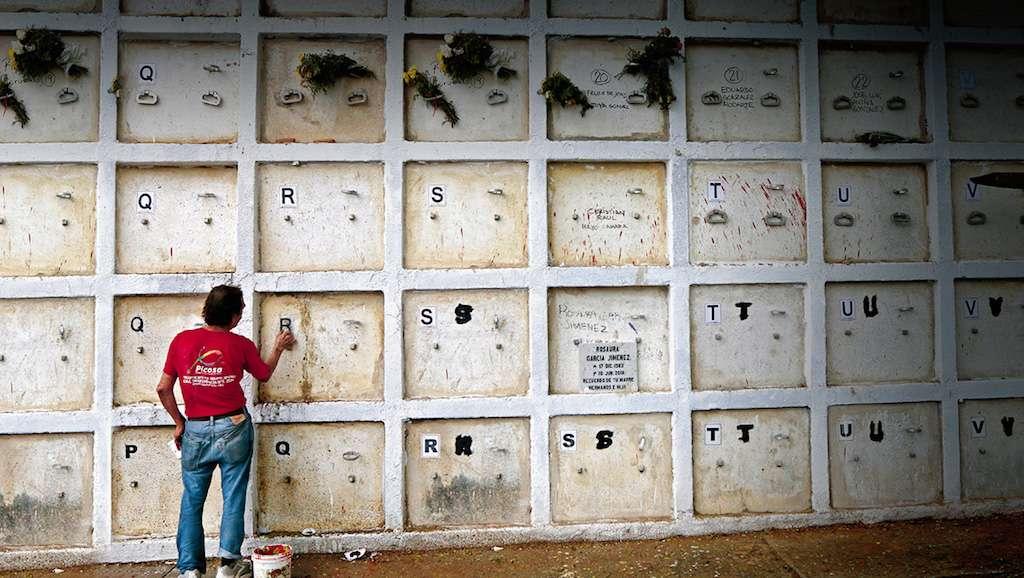 Dan espacio a restos sin  identificar, Edomex contará con panteón forense. FOTO: FERNANDO CARRANZA GARCIA / CUARTOSCURO.COM