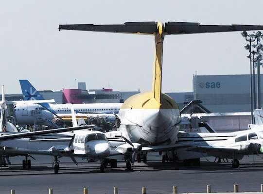 Aeropuerto Internacional de Toluca,  la alternativa para desahogar el AICM. FOTO: SAÚL LÓPEZ/CUARTOSCURO.COM
