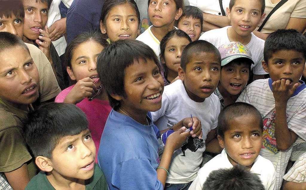 La mala alimentación propicia menor altura en niños. Foto: CUARTOSCURO.COM