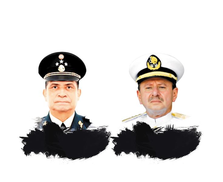 Ex diplomático y contralor, en Sedena y Marina.