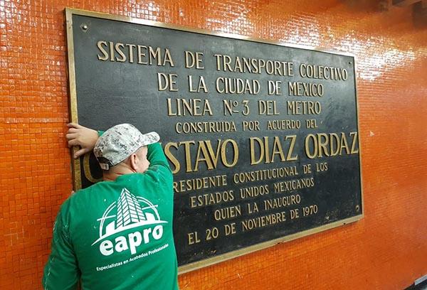 La orden fue dada por el Jefe de Gobierno, José Ramón Amieva, como una forma de recodar los 50 años del 2 de Octubre.