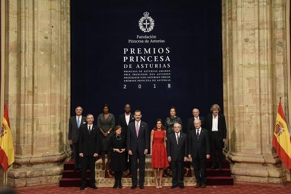 INTERNACIONALES. Estos galardones, entregados en España, reconocen los valores de quienes trabajan por un mundo mejor. Foto: Notimex