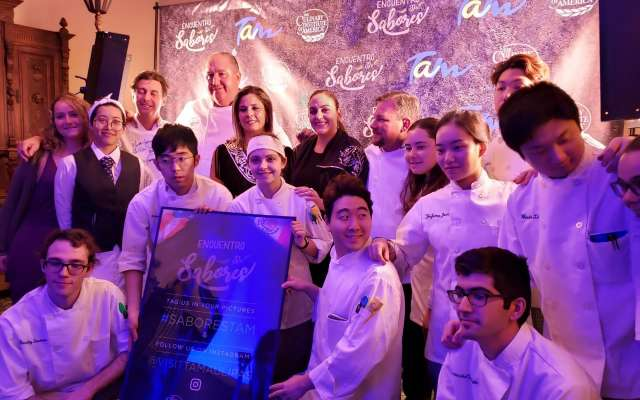 El chef invitado fue el tamaulipeco Héctor Hugo Urtaza, quien sostuvo que Tamaulipas es un estado rico en tradición gastronómica. Foto: Cortesía
