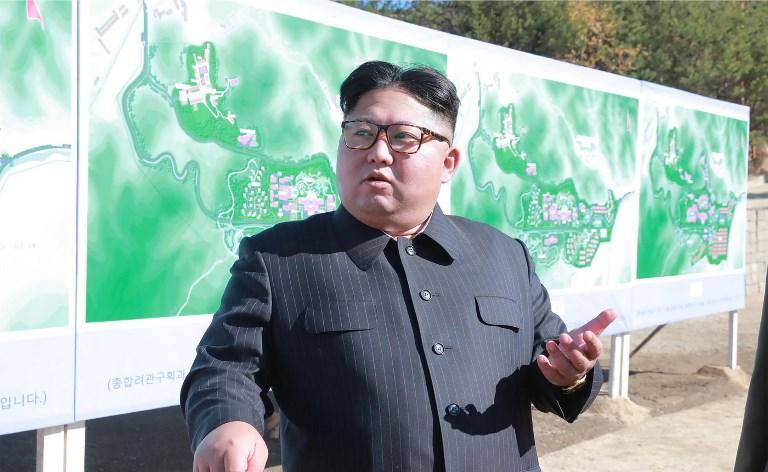El líder norcoreano, Kim Jong-Un, ha realizado cuatro pruebas nucleares durante su mandato. Foto: AFP