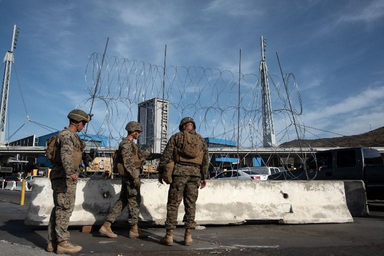 Son más de cinco mil soldados FOTO: AFP
