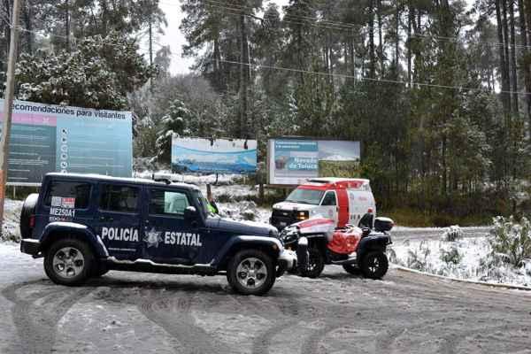Si vas a visitar el Nevado de Toluca, atiende estas recomendaciones de las autoridades: FOTOS