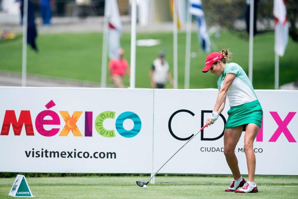 Gaby López se convirtió el pasado 10 de noviembre en campeona del torneo Blue Bay LPGA en China. Foto: MEXSPORT