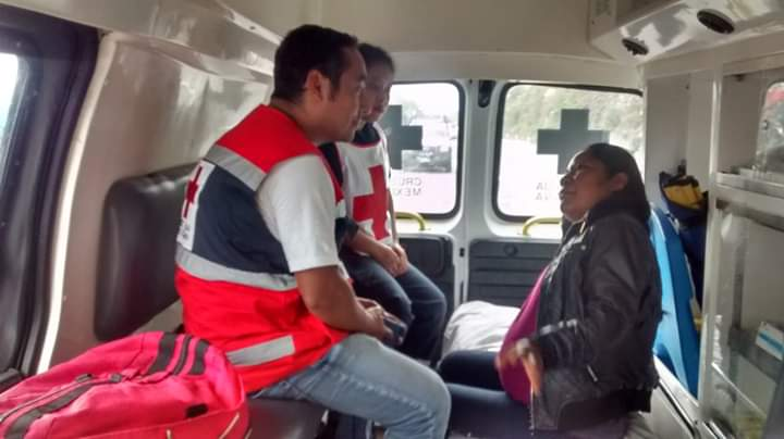 Nace bebé de mujer de la Caravana de desplazados en Chiapas
