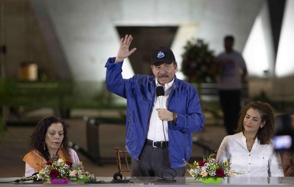 Nicaraguavive una crisis social y política que ha generado protestas contra el Gobierno de Ortega FOTO: EFE