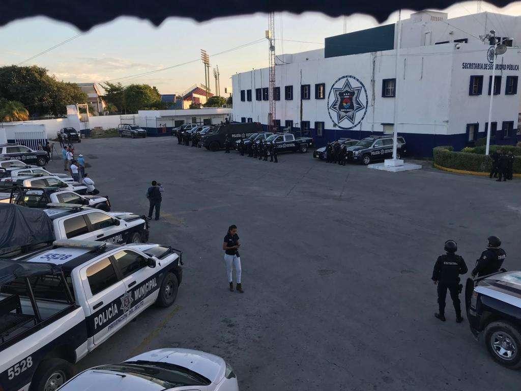 Buscan establecer el Mando Único policiaco hacia el mes de enero próximo. FOTO: ESPECIAL