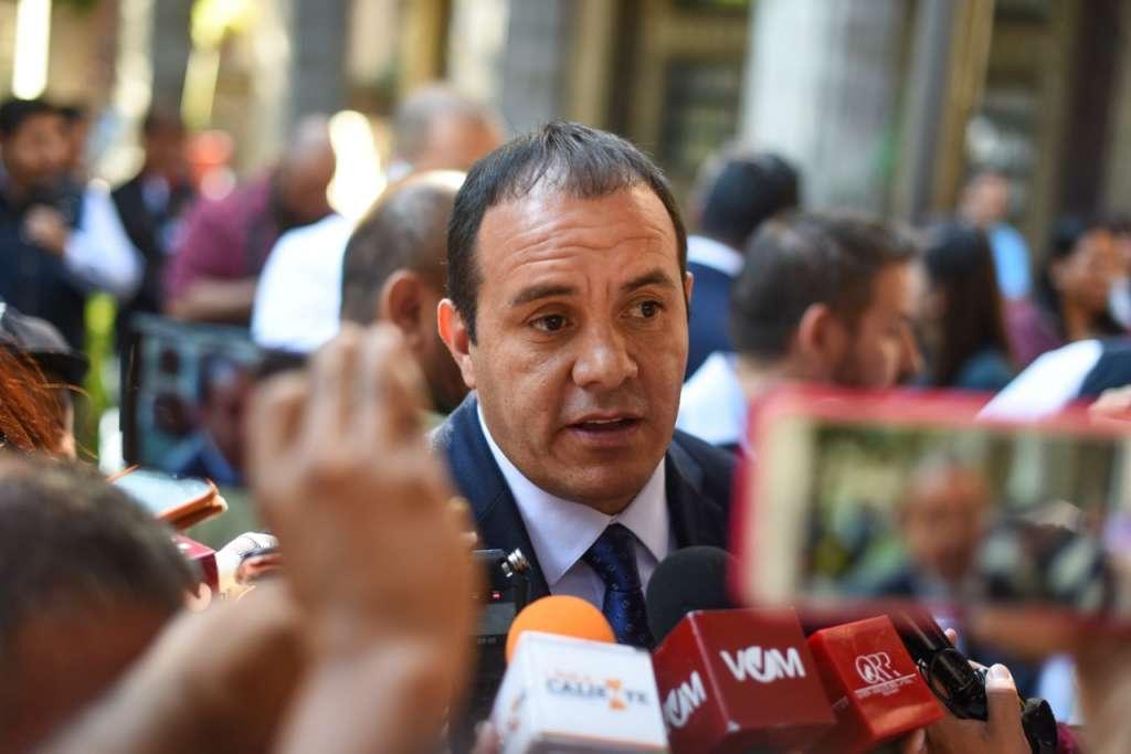 También advirtió que para el ex gobernador de Morelos no habrá perdón. FOTO: ESPECIAL