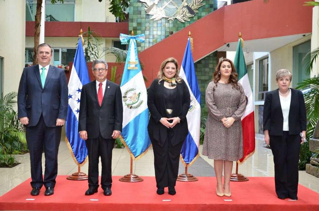 Luego de que cada uno de los tres países centroamericanos aporte los insumos correspondientes, se elaborará el programa de desarrollo regional. FOTO: NOTIMEX