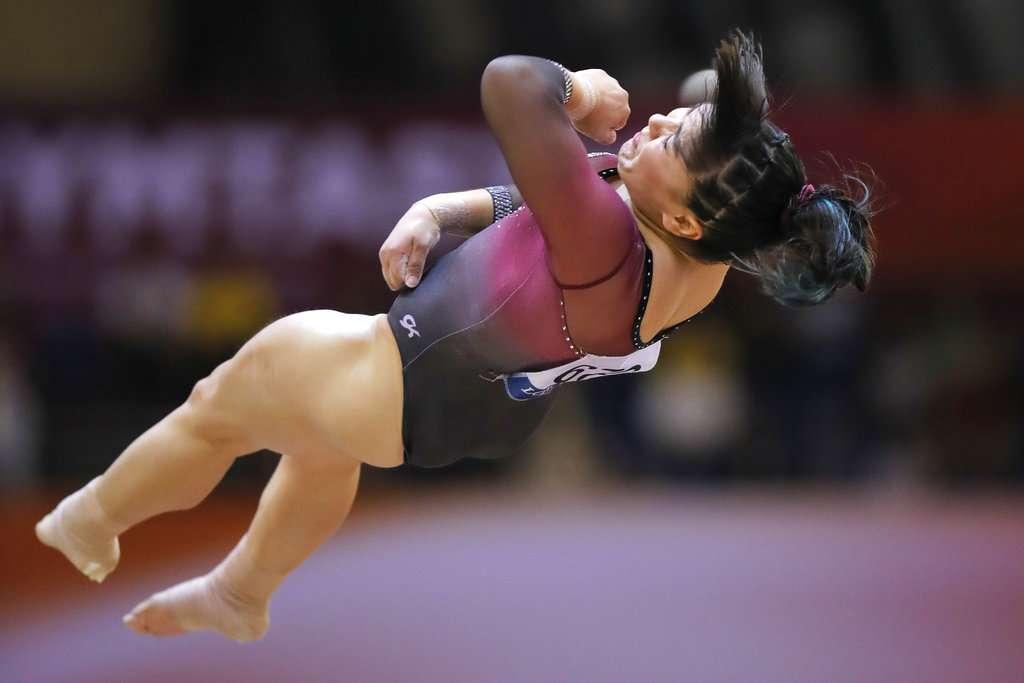 PACIENCIA. La nacida en Mexicali escribió su nombre con letras de oro para el deporte mexicano. Foto: AP