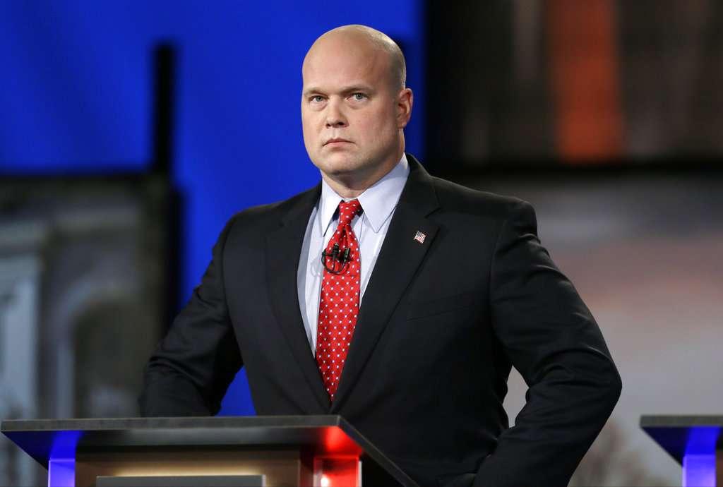 El miércoles, Trump designó a Matthew Whitaker para reemplazar al exfiscal general Jeff Sessions. Foto: AP