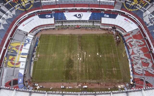 Los boletos adquiridos para el Estadio Azteca no podrán ser utilizados por aficionados que decidan hacer el viaje a Los Ángeles para ver el partido en el Coliseo. Así lo confirmaron los Rams. Foto: AP