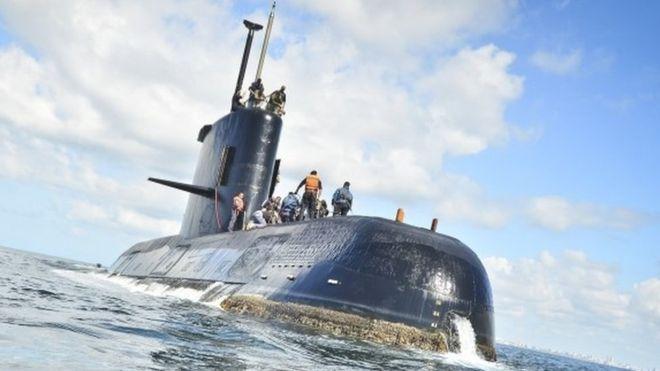El submarino ARA San Juan fue localizado ayer tras un año y un día de estar desaparecido e incomunicado. Foto: Especial