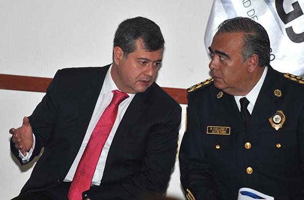 Amieva Gálvez subrayó que no habrá impunidad para nadie, porque así como se reconoce a los policías valiosos, también debe sancionarse y separarse del cargo a quienes trasgreden la ley.  FOTO: CUARTOSCURO