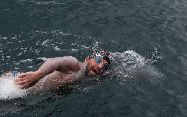 RECORDMAN. El mexicano ha logrado cruzar los Siete Mares, lo que le valió el reconocimiento. Foto: Especial