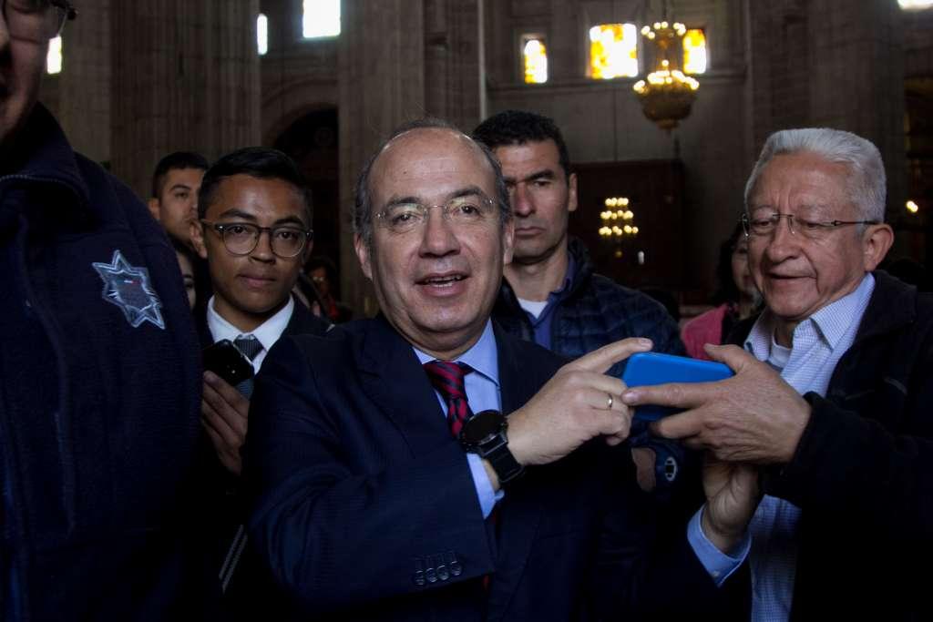 Calderón reveló que estaba analizando fundar un nuevo partido político junto con su esposa Margarita Zavala. FOTO: ARCHIVO/ CUARTOSCURO