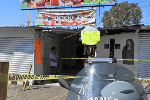 Tras la ejecución hubo movilización de las autoridades. FOTO: ESPECIAL