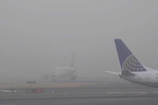 Desde las 05:15 horas fueron suspendidas las operaciones. FOTO: CUARTOSCURO
