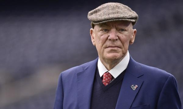 Bob McNair perdió la vida a los 81 años de edad. Foto: AP