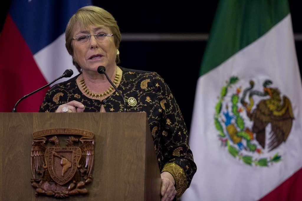 Además de Michelle Bachelet, a la toma de protesta también asistirán  100 personalidades de EU FOTO: ARCHIVO/ CUARTOSCURO