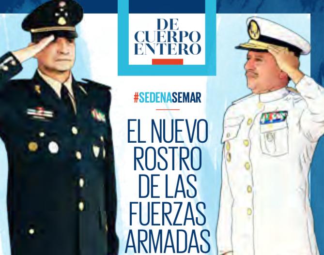 El nuevo rostro de las Fuerzas Armadas / Heraldo de México.