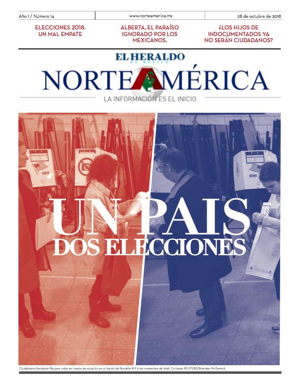 Heraldo de México Edición Norteamérica 11 de noviembre