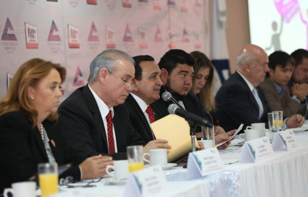 Presentación de la APP El Buen Fin. Foto: @Concanaco