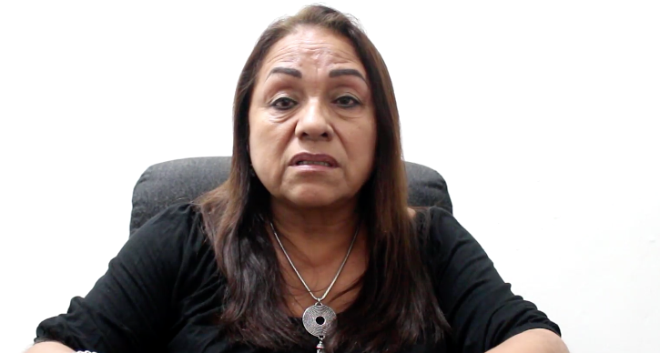 Diputada Carmen Medel graba video tras asesinato de su hija en Veracruz