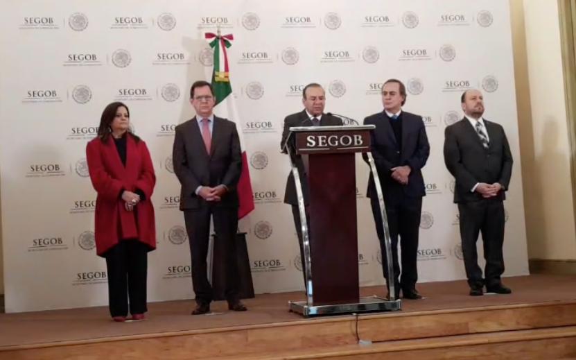 Navarrete dijo que 550 migrantes aceptaron el programa de empleo del Gobierno federal. Foto: Especial