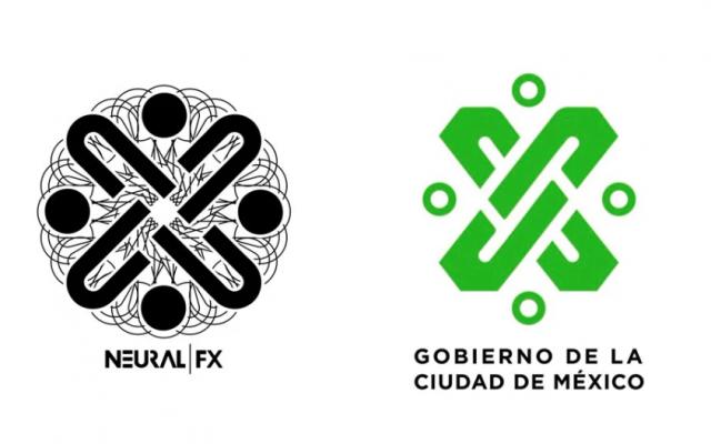 """El logotipo de la banda Neural FX, """"Efectos neurales en español"""", fue creado por Antonio Vázquez, bajista de la banda"""