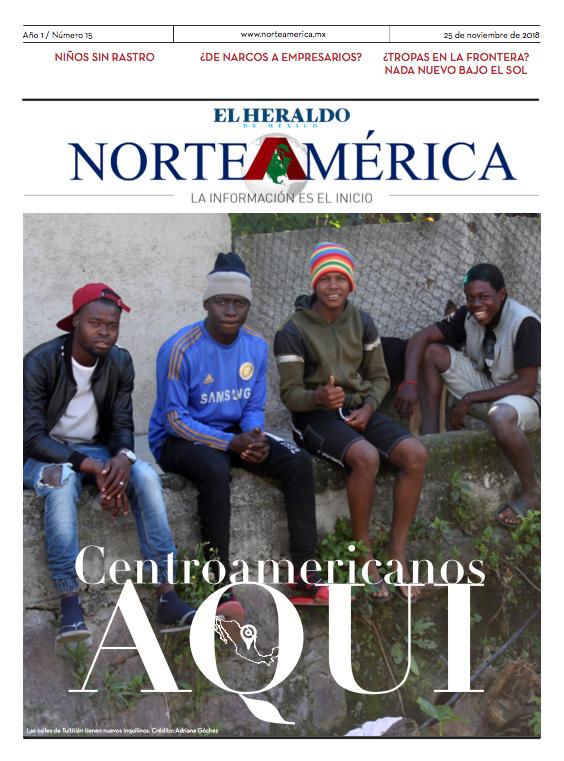 Heraldo de México Edición Norteamérica 25 de noviembre