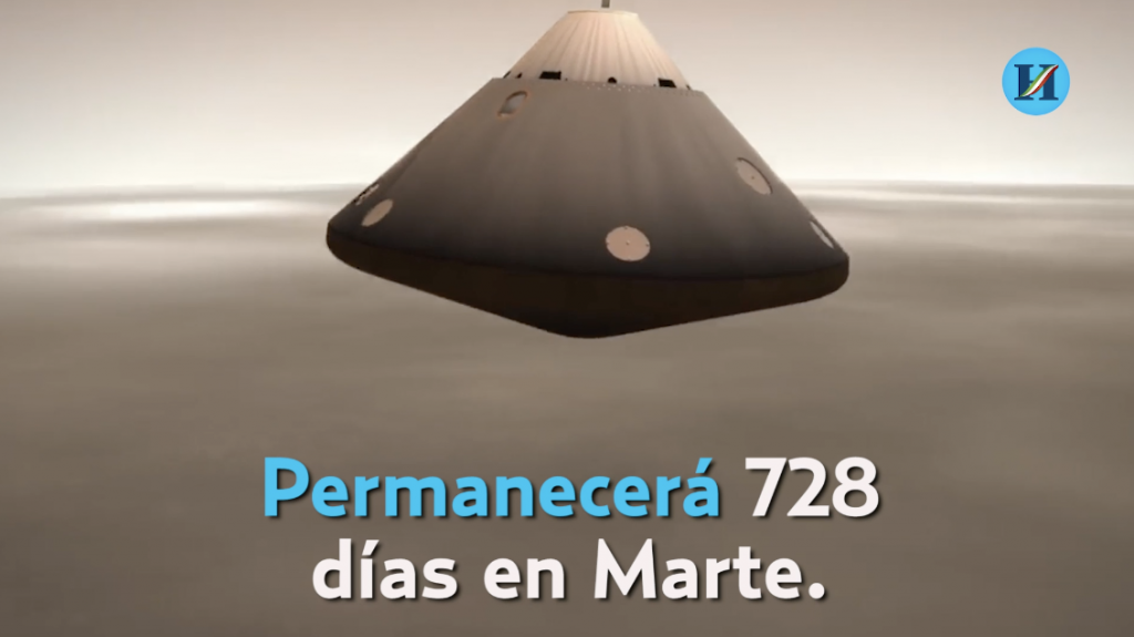InSight, la sonda robótica de la NASA, aterriza en Marte
