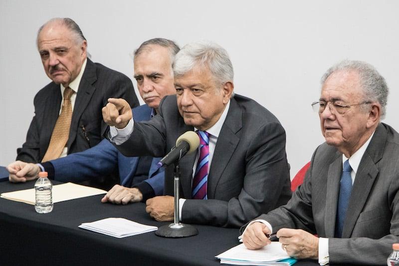 López Obrador, durante una conferencia de prensa la semana pasada. FOTO:  MISAEL VALTIERRA /CUARTOSCURO.COM