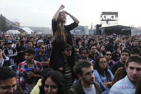 140 mil fans se espera el festival de música edición 9. Foto: Cuartoscuro
