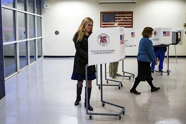 Las elecciones pondrán en juego 435 escaños de la Cámara de representantes. FOTO: REUTERS