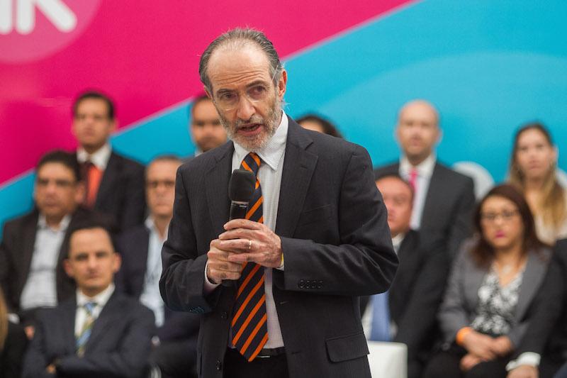 Carlos Noriega Curtis, presidente de la Asociación Mexicana de Administradoras de Fondos para el Retiro (Amafore). FOTO: ISAAC ESQUIVEL /CUARTOSCURO.COM
