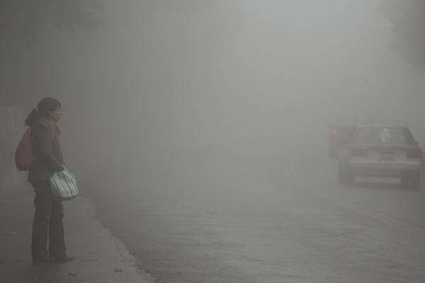 La Ciudad de México registrará este jueves una temperatura mínima de 3 a 5 grados centígrados. FOTO: CUARTOSCURO