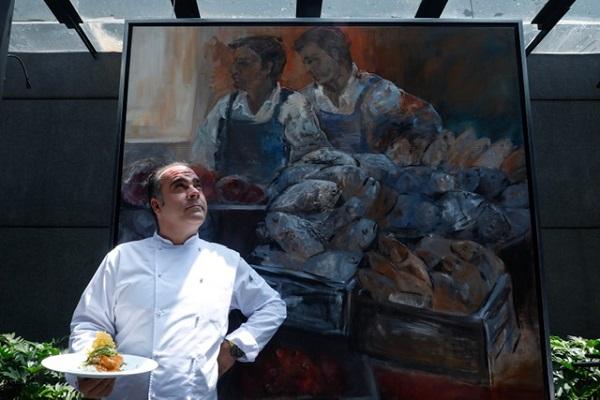 Después de aprender de la cocina de su abuela, el chef español Gorka Bátiz vino a México para mezclar ingredientes y materializar un concepto que ya figura dentro del circuito gastronómico mexicano. Foto: Nayeli Cruz