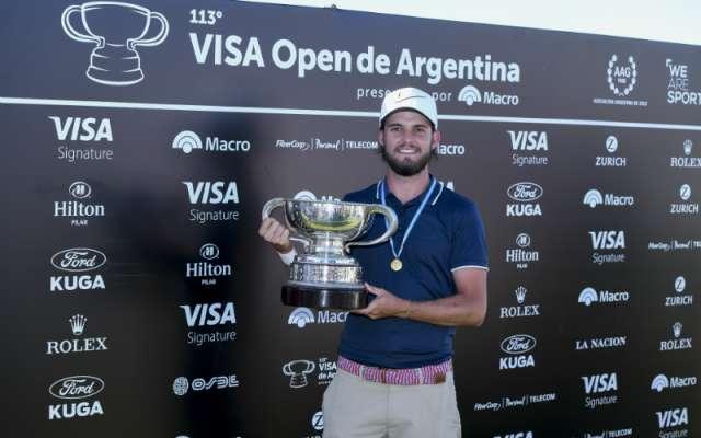 Benítez se convirtió en el campeón más joven del PGA Tour Latinoamérica