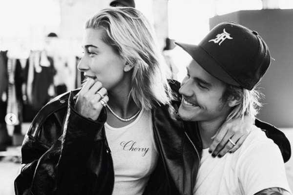 Bieber comenzó a salir con Baldwin luego de terminar su relación con la cantante Selena Gómez. Foto: Instagram