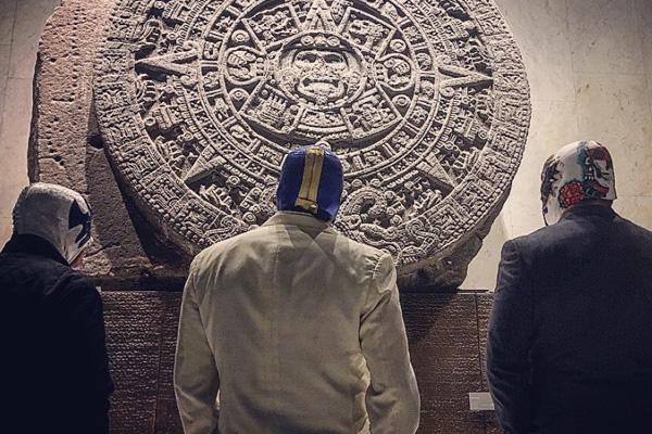 Visitaron el Museo de Antropología. FOTO: ESPECIAL