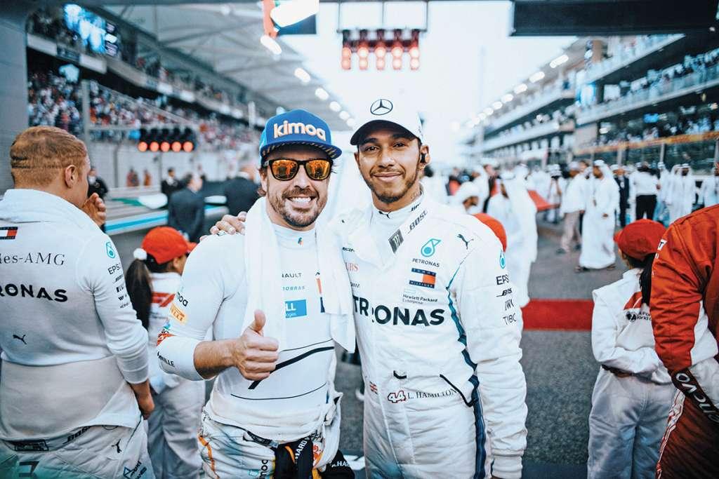 Formel 1 - Mercedes-AMG Petronas Motorsport, Großer Preis von Abu Dhabi 2018. Lewis Hamilton   Formula One - Mercedes-AMG Petronas Motorsport, Abu Dhabi GP 2018. Lewis Hamilton