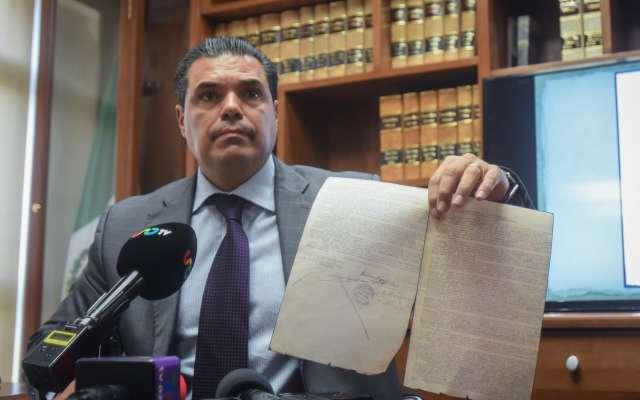 José de Jesús Guizar Nájera, subsecretario de Gobierno confirmó el robo y el inició de la carpeta de investigación SC/11/139/2018