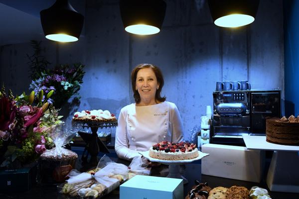 La chef Maricú inauguró oficialmente su pastelería. FOTOS. Leslie Perez