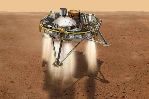 La sonda se desplazó548 millones de kilómetros en un viaje de seis meses por el espacio. Foto: NASA
