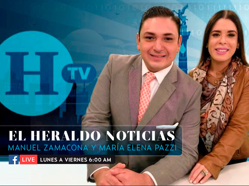 El Heraldo Noticias con Manuel Zamacona y  María Elena Pazzi. Emisión 17 de enero